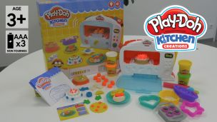 On a joué avec le four magique Play-Doh