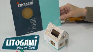 Litogami Casagami : la petite veilleuse solaire