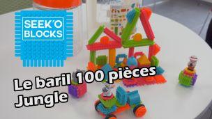 Seek'O'Block - Baril jungle 100 pièces