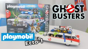 On a construit Ecto-1 Ghostbusters