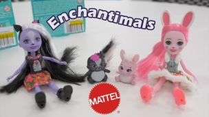 Enchantimals : Mini-poupées et animaux Mattel
