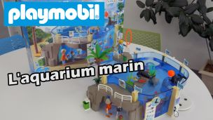 On a construit l'aquarium marin