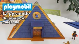 On a construit la pyramide du Pharaon