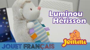 Jemini Luminou : Peluche douce et phosphorescente