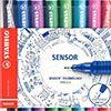 Stabilo Sensor : un stylo-feutre monté sur amortisseur