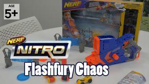 On a joué avec le lanceur Nerf Nitro Flashfury Chaos