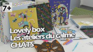 On a joué avec la Lovely Box Chats