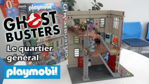 On a construit le quartier général GhostBusters