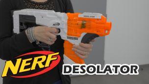 On a tiré avec le Nerf Desolator