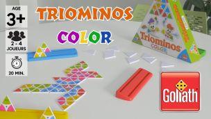 On a joué à Triominos Color