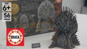 On a construit le trône de fer en 3D