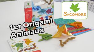On a fait des Origamis Animaux