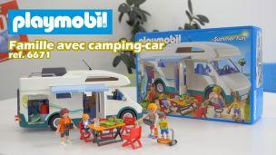 On a construit le camping-car de Playmobil