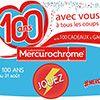 Mercurochrome : une petite bouteille rouge pour tous les bobos !