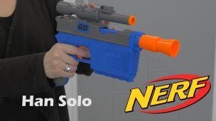 On a tiré avec le Nerf d'Han Solo