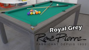René Pierre Royal Grey : Billard américain