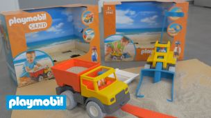 On a joué à Playmobil Sand
