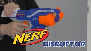 On a tiré avec le Nerf Disruptor