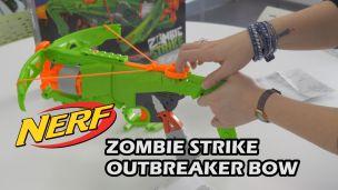On a tiré avec le Nerf Zombie Outbreaker Bow