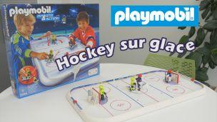 On a joué au hockey sur glace avec Playmobil