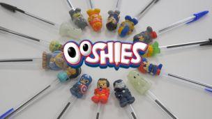 Ooshies : Pack de mini figurines pour crayon et stylo