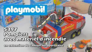 On a testé le matériel d'incendie de Playmobil