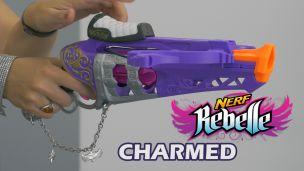 On a tiré avec le Nerf Charmed