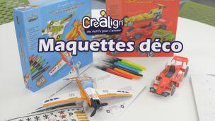 Crea lign' Maquettes Deco : Kit de personnalisation pour enfant