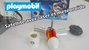 On a construit le satellite avec laser et météorïde