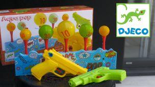 On a joué avec des pistolets à eau
