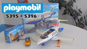 On a construit l'avion de Playmobil