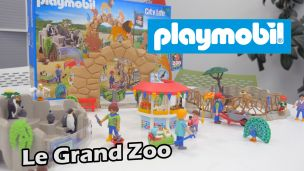 On  a construit le grand Zoo