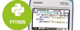 Casio Graph 90+E : spéciale Lycée et Fac avec un mode Python !