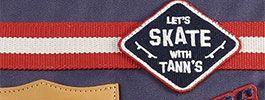 Tann's Skate Ollie ou Regular - Des cartables et trousses à l'inspiration Rider