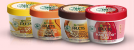 Fructis Hair Food : Les masques capillaires