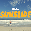 Nivea : Prot�ger les enfants du soleil en glissant sur un toboggan