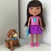 Poup�e Dora et son chiot savant