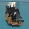 Playmobil Pirates 6678 : Bateau pirate des t�n�bres