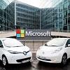 Renault-Nissan s'allie � Microsoft pour d�velopper des voitures connect�es et autonomes
