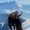 Rester connecter ... m�me dans les stations de ski !
