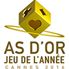 As d'Or - Jeu de l'ann�e : Le palmar�s 2016