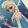 Sticky Mosaics : La Reine des neiges