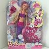 Poupée Barbie sirène bulles magiques