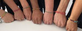 Les bracelets br�siliens r�alis�s avec LoopDeDoo