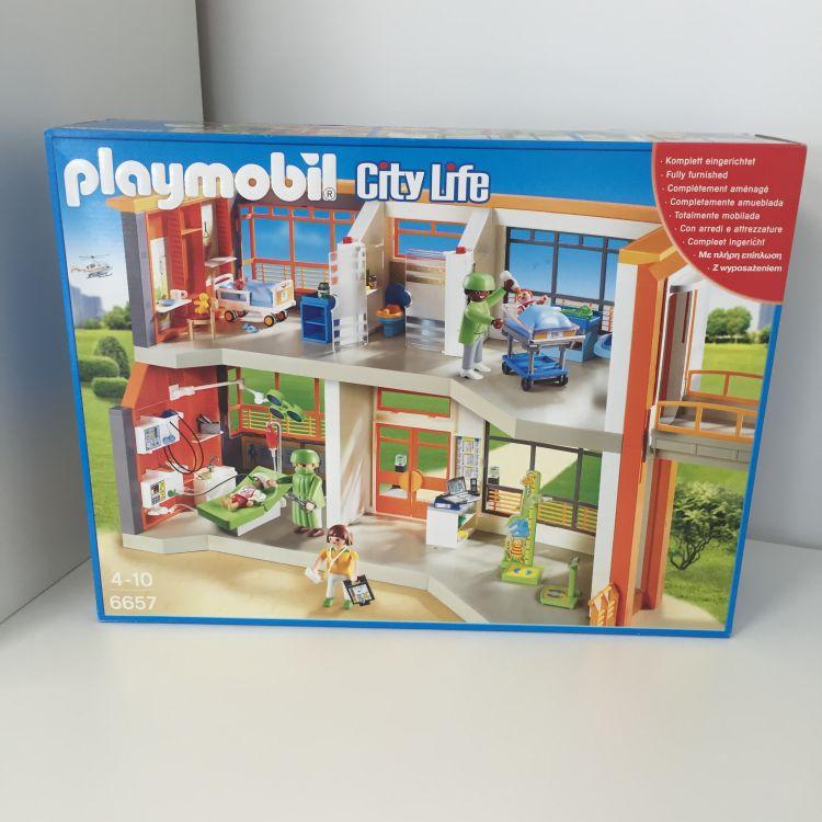 playmobil 6657 city life h pital p diatrique am nag comparer avec. Black Bedroom Furniture Sets. Home Design Ideas