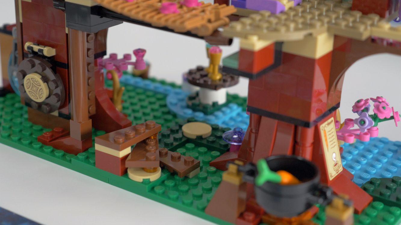 Lego 41075 elves la cachette secr te des elfes for Meuble avec cachette secrete