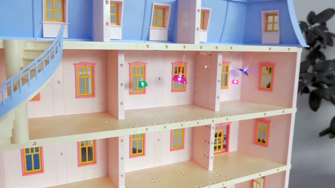 playmobil 6456 kit d 39 clairage pour 5303 dollhouse la. Black Bedroom Furniture Sets. Home Design Ideas