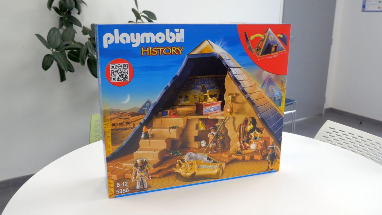 playmobil 5386 history pyramide du pharaon comparer avec. Black Bedroom Furniture Sets. Home Design Ideas