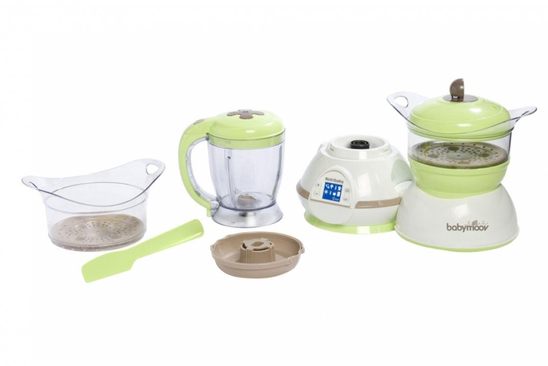 Babymoov nutribaby robot de cuisine b b mixeur cuiseur for Robot cuisine pour bebe