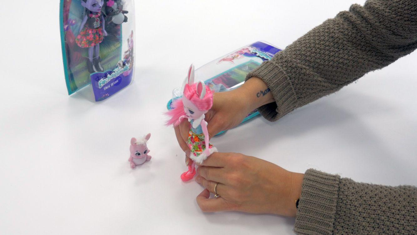 Enchantimals mini poup es et animaux mattel for Prix d une girafe a poncer